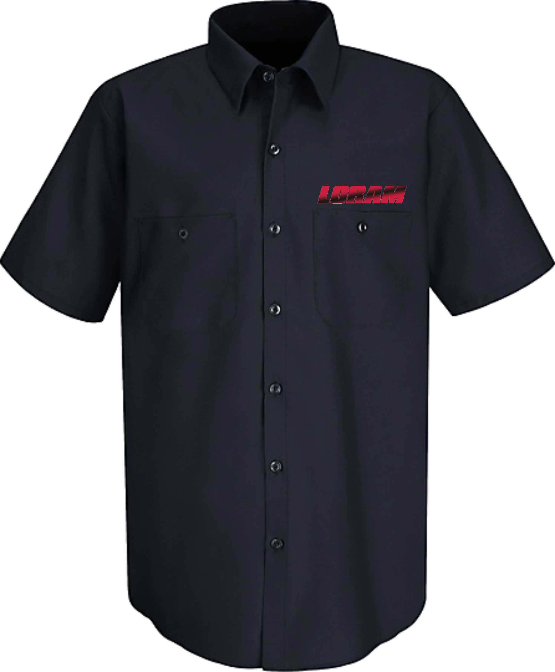 Wrinkle Free Short Sleeve Work Shirt